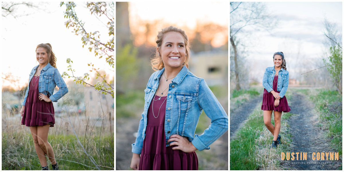 fort wayne senior photography - Dustin & Corynn