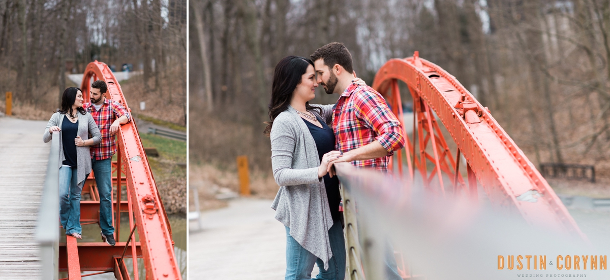 Indianapolis Engagement - Dustin and Corynn Photography