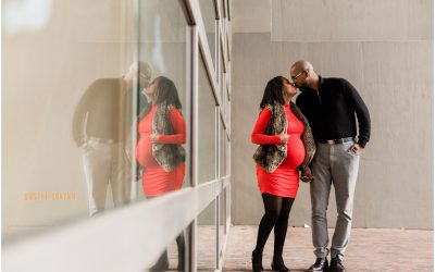 Angelica & Byron // Fort Wayne Maternity Session
