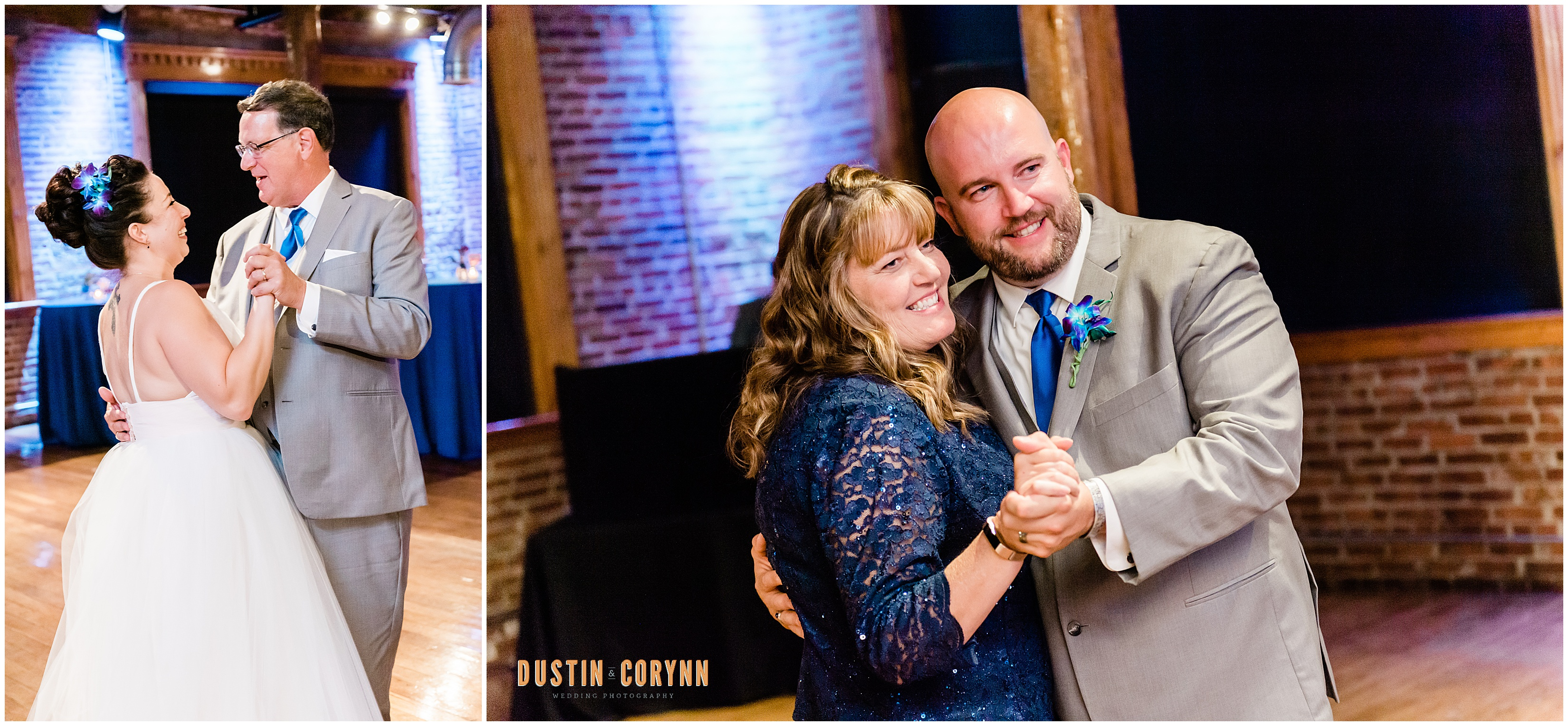 First Dances at Mavris Arts Center Wedding