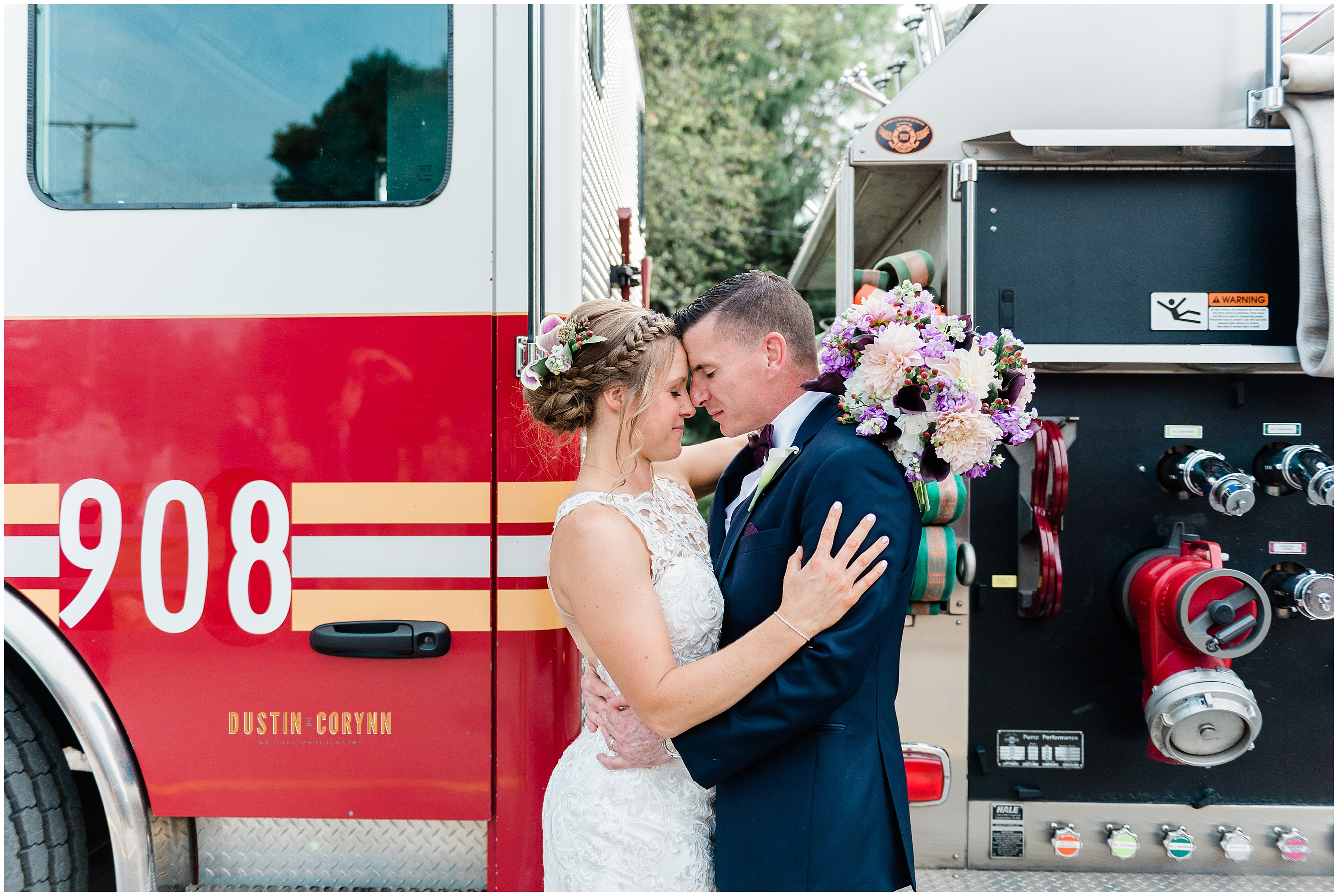 Portraits with Firetruck