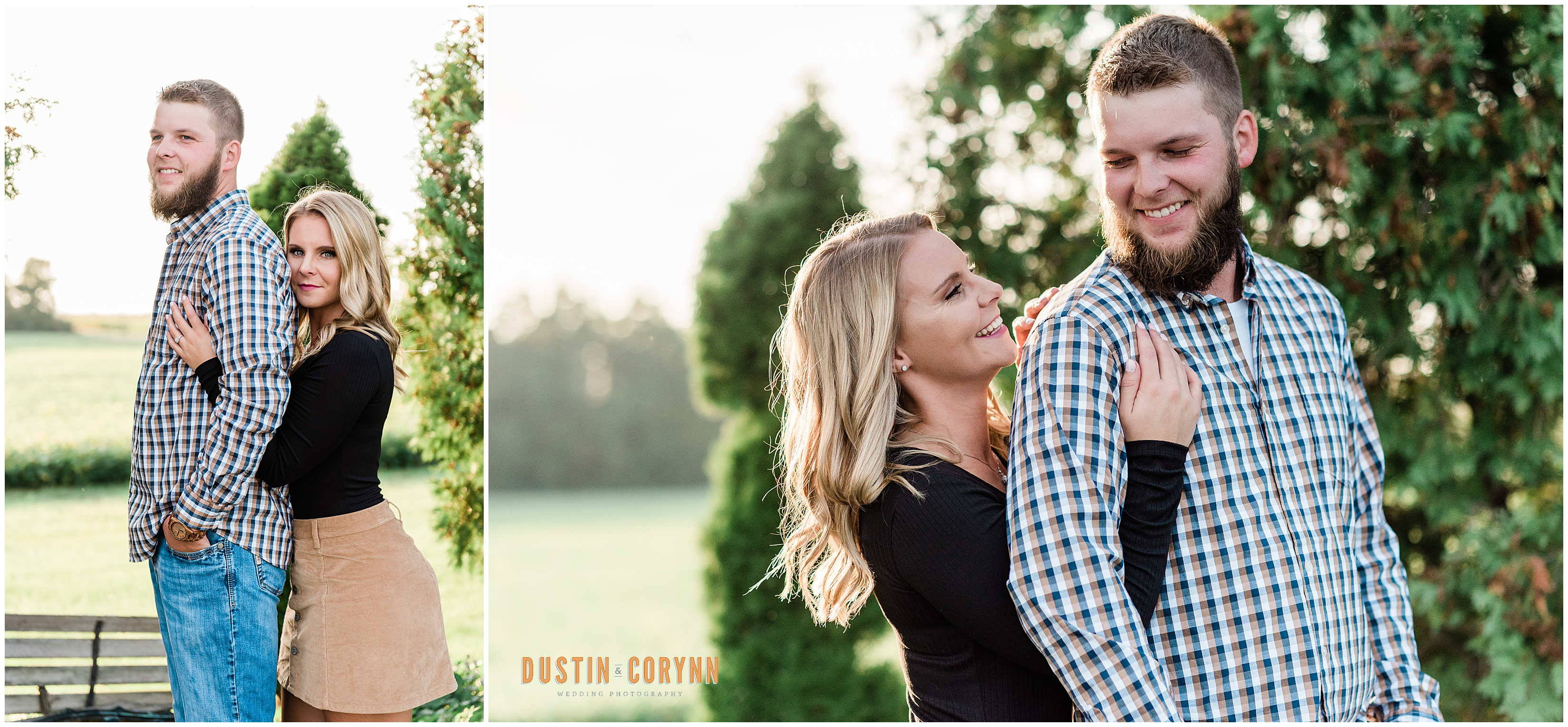 Couple at Engagement Session