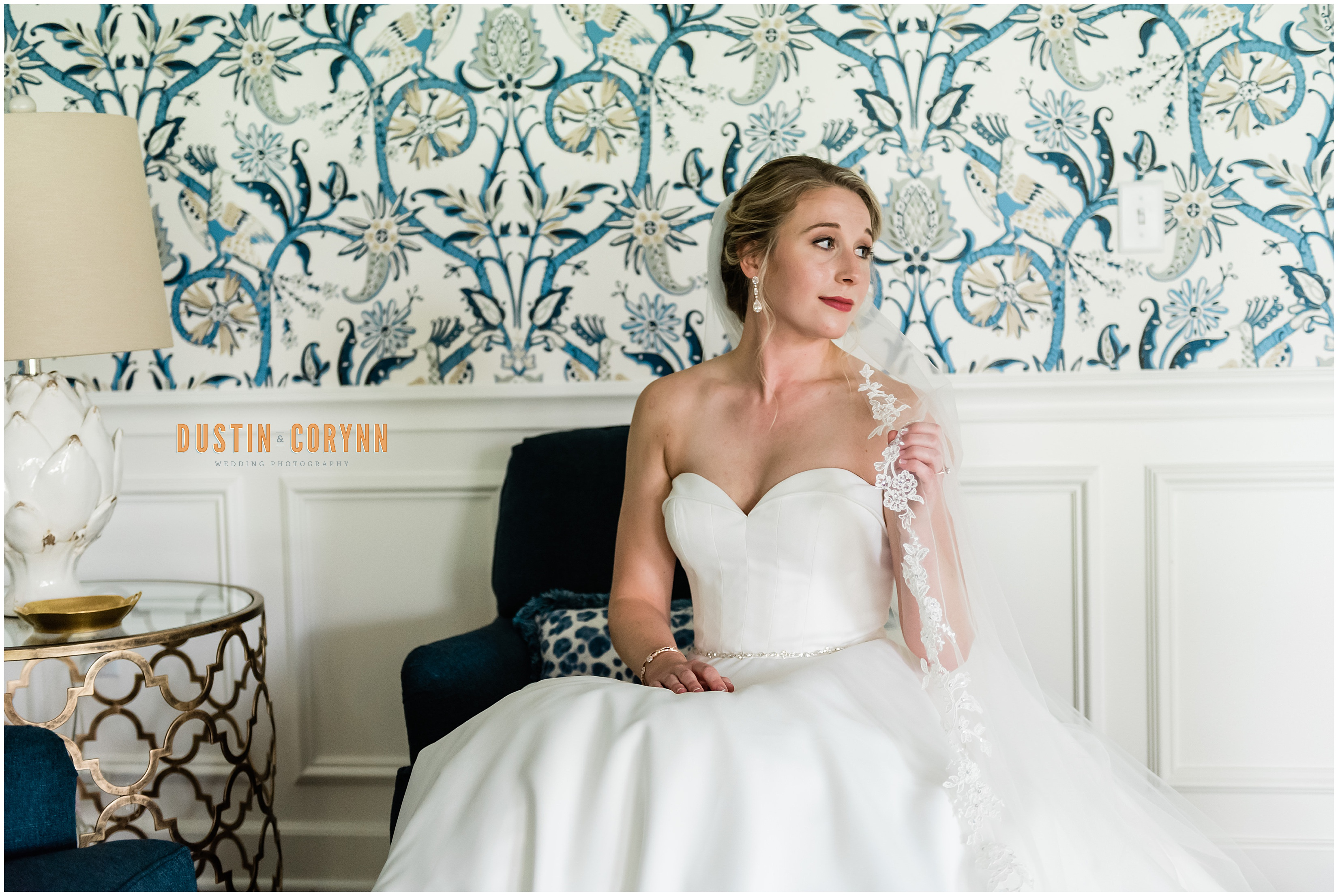 Bridal Portrait at Fort Wayne Country Club