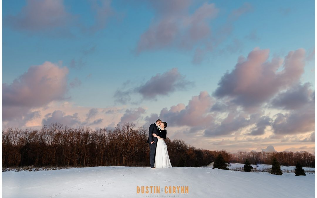 Emily & Jordan // Snowy Union 12 Wedding