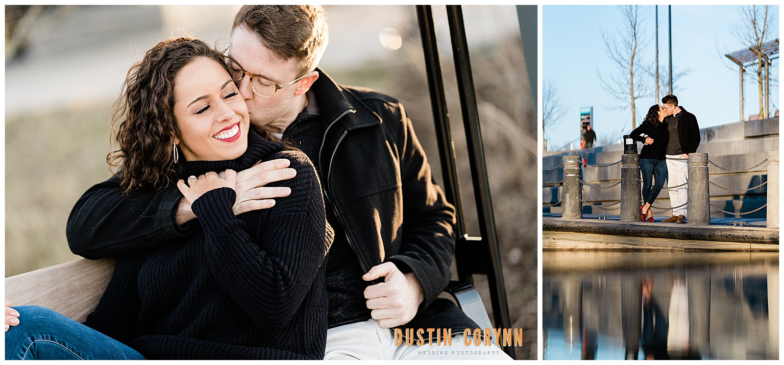 Downtown Fort Wayne Engagement