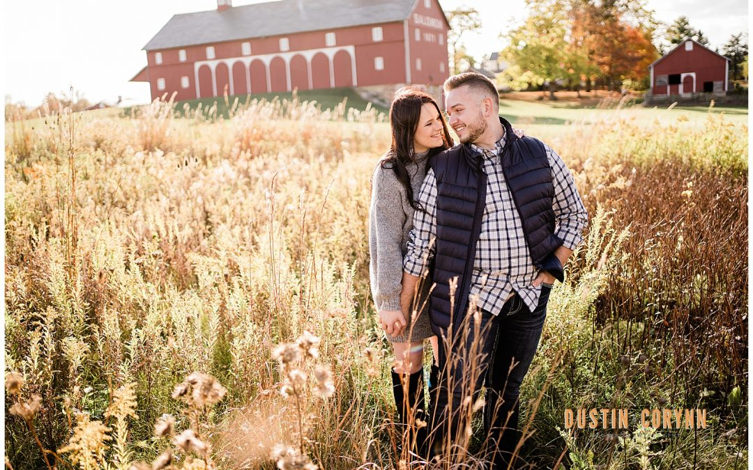 Kara & Matt // Salomon Farm Engagement